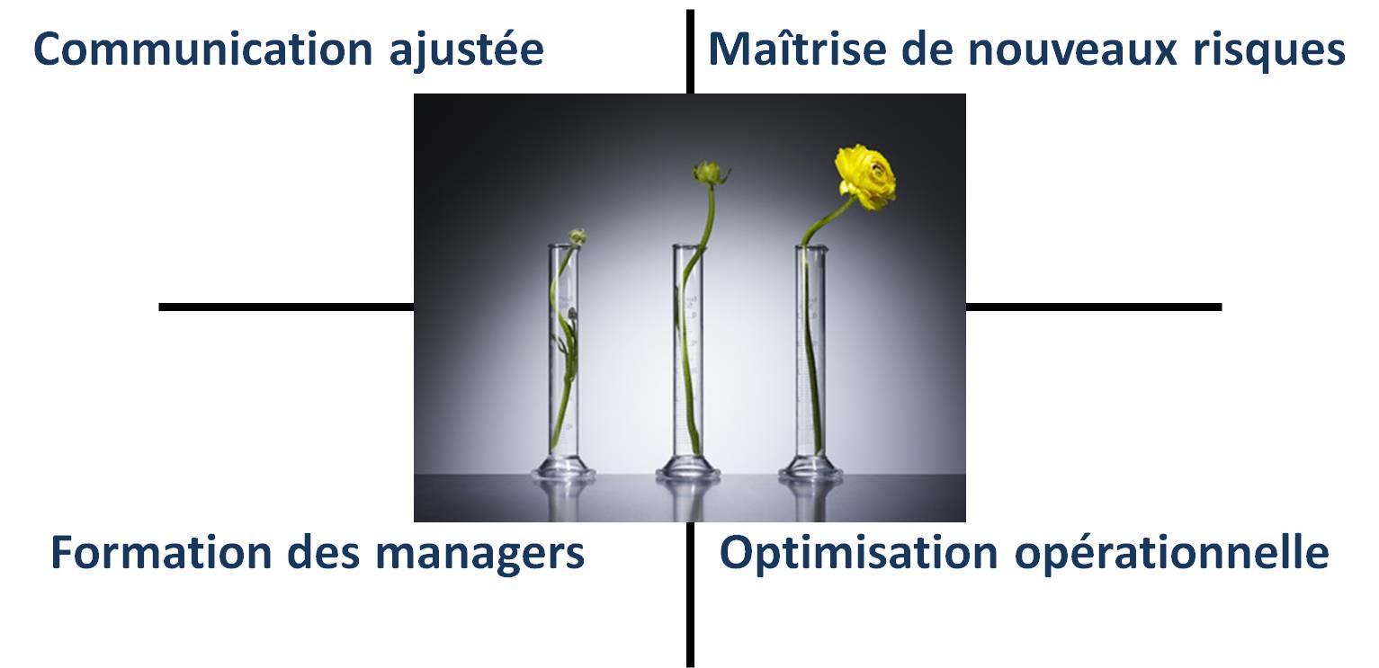 conduite de changement dans l'entreprise